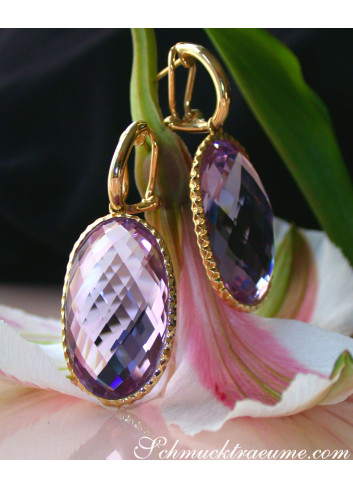 Unmistakable Amethyst Earrings