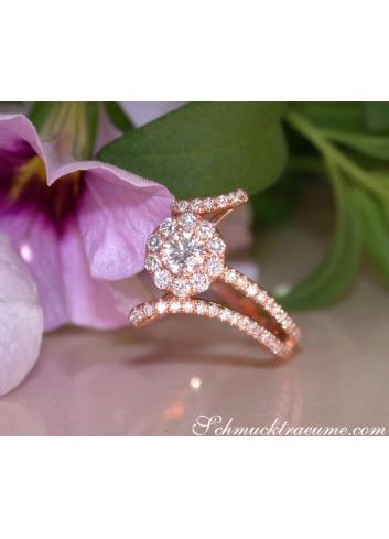 Brillant Solitär Ring