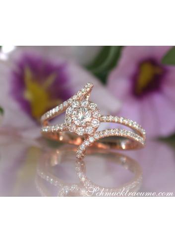 Enchanting Mini Solitaire Diamond Ring