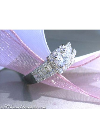 Precious Diamond Solitaire Ring