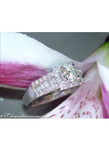 Precious Diamond Solitaire Ring (1/2 Carat)