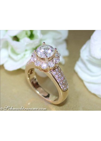 Timeless Solitaire Diamond Engagement Ring