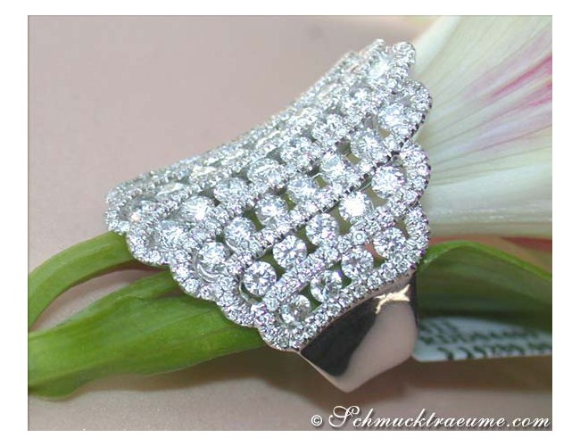 Luxus Diamanten Ring