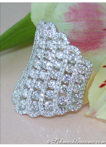 Luxus Diamanten Ring