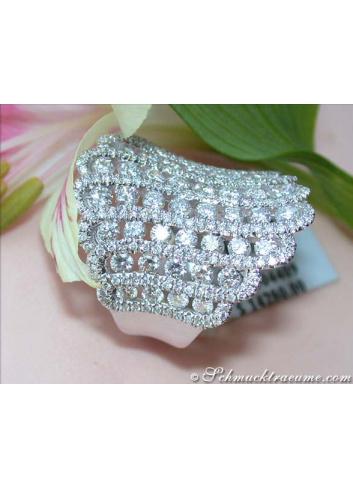 Extra wide Diamond Ring