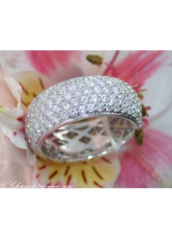 Brillanten Memoire Ring / Brillanten Memory Ring