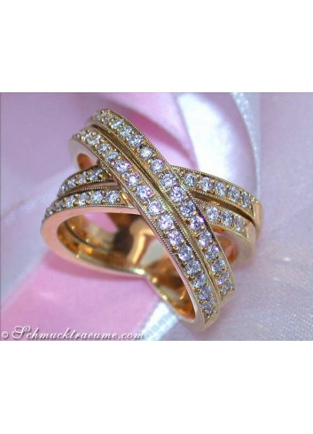 Heavy Diamond Ring