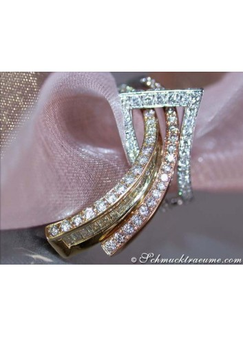 "Terrific Diamond ""Belt"" Ring"