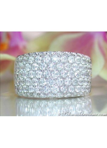 Solid Diamond Ring