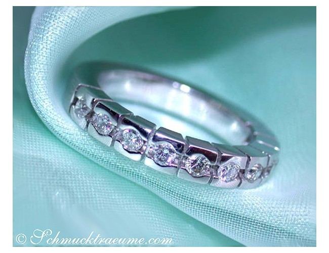 Heavy Diamond Eternity Band