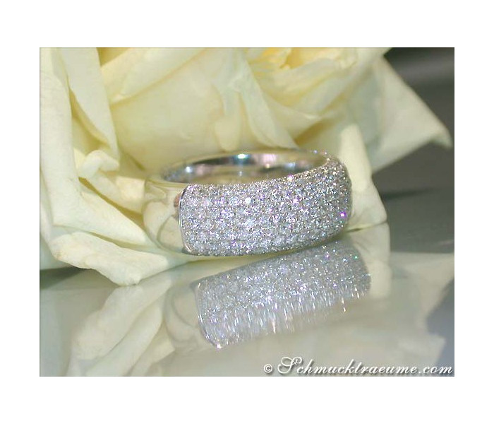 Heavy Diamond Eternity Ring