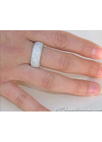 Brillanten Memory Ring / Memoire Ring