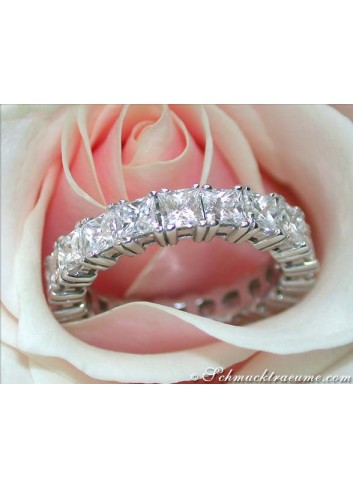 Top-class Diamond Eternity Ring (4,33 ct.)