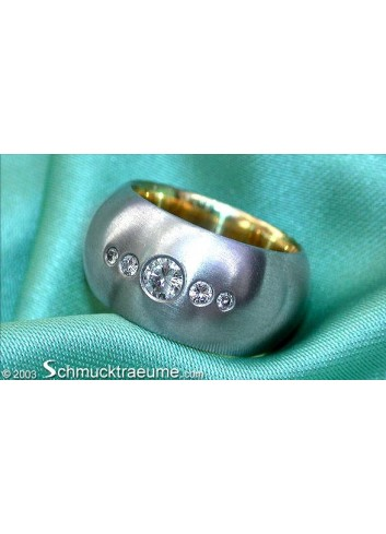 Attractive Diamond Band (Starry Sky Style)