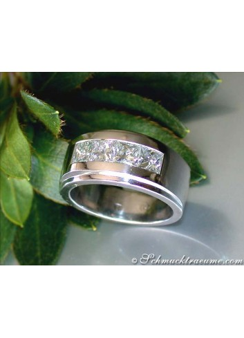 Diamanten Herren Ring