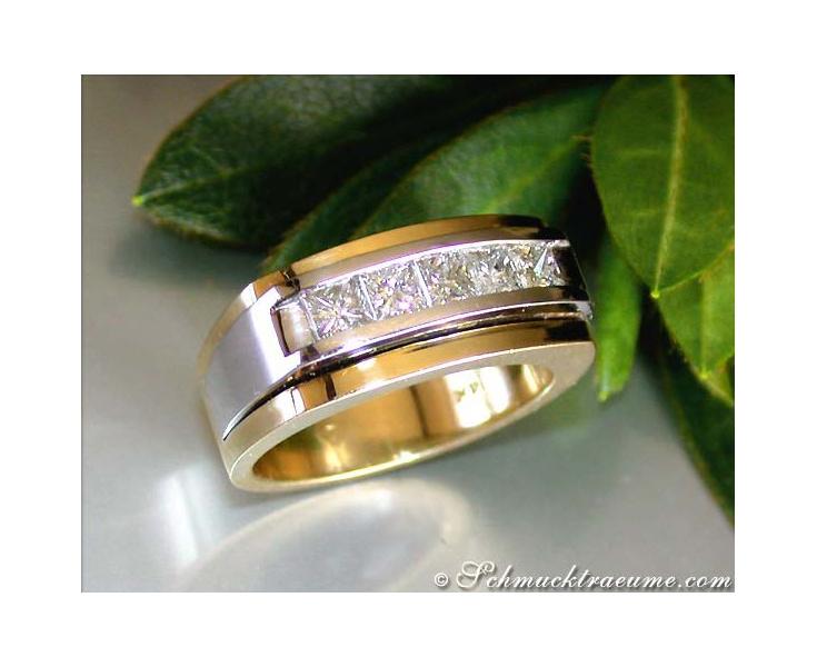 Diamanten Herren Ring