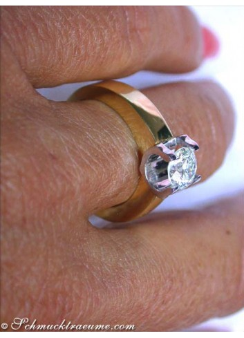 Excellent Diamond Solitaire Ring (1 ct.)