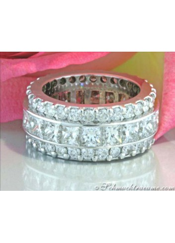 Glorious Diamond Eternity Ring (8,79 ct.)