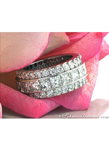 Glorious Diamond Eternity Ring (8,79 ct.)