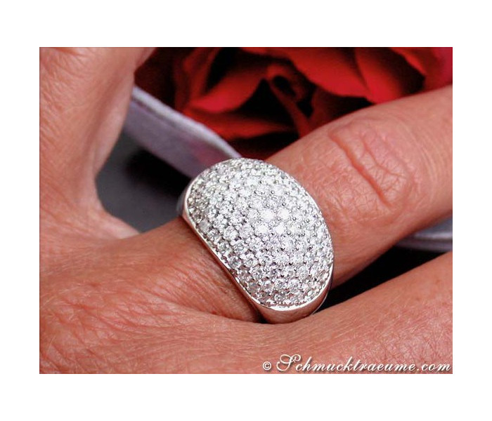 Magnificent Diamond Pavé Ring