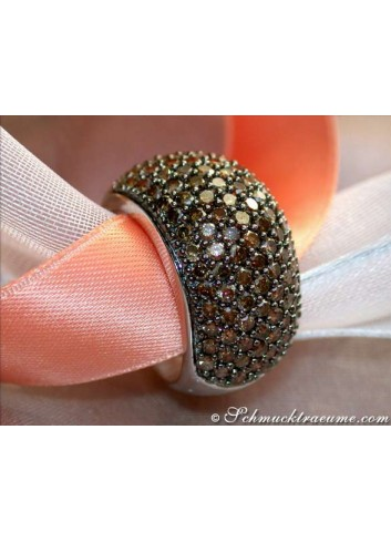 Timeless Brown Diamond Ring