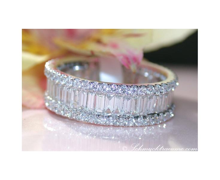 Diamanten Brillanten Memoryring