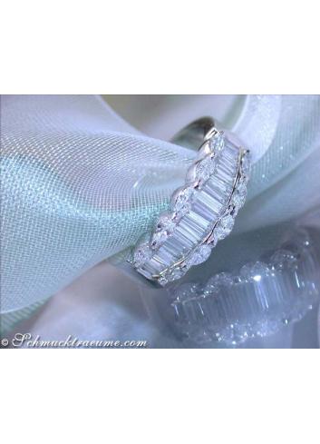 Edler Diamanten Ring