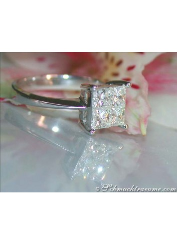 Princess Diamant Ring