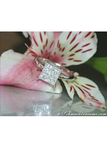 Precious Princess Diamond Ring (0,91 ct.)