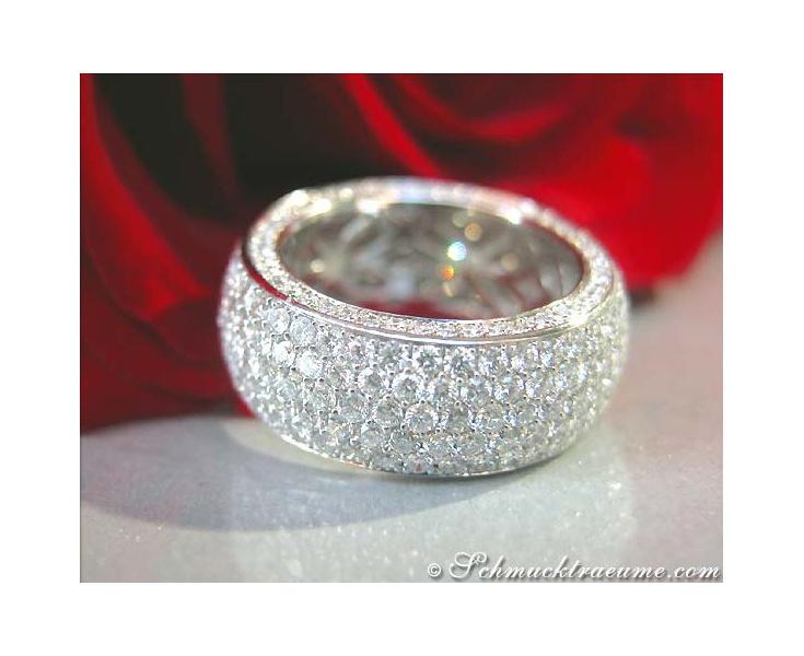 Diamanten Memory Ring