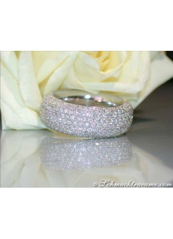 Heavy Diamond Eternity Ring (3,63 ct.)