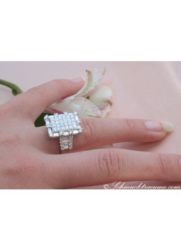 Exclusive Diamond Ring (3,73 ct.)
