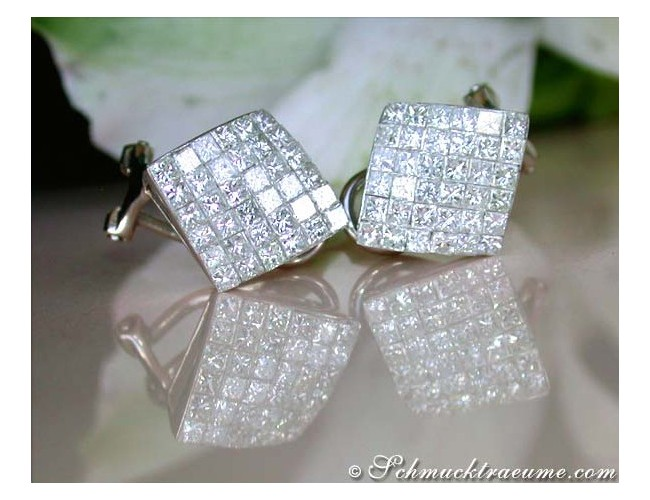Fantastic Princess Diamond Earrings
