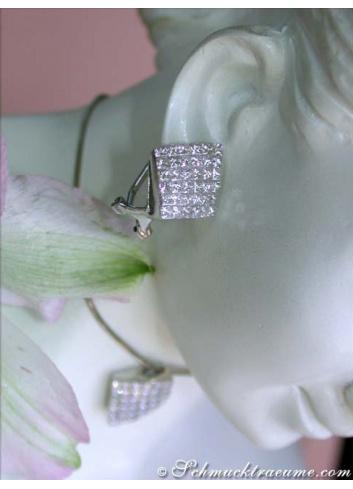 Fantastic Princess Diamond Earrings