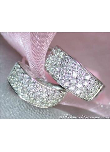 Diamanten Creolen
