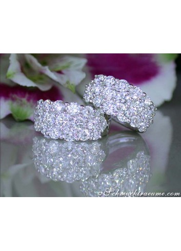 Terrific Diamond Huggie Earrings