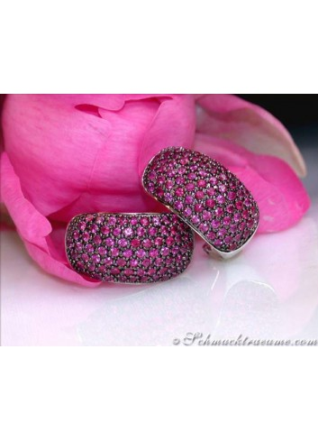 Sparkling Ruby Earrings