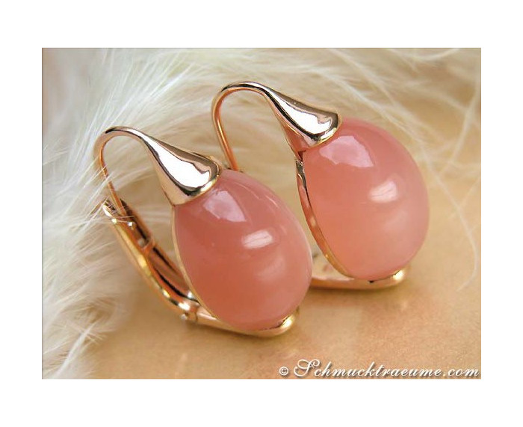 Terrific Moonstone Earrings
