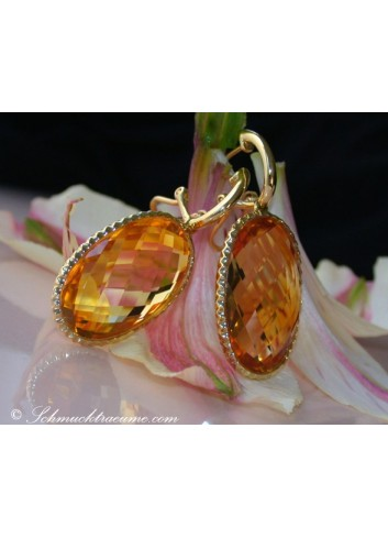 Stunning Citrine earrings