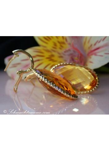 Stunning Citrine earrings
