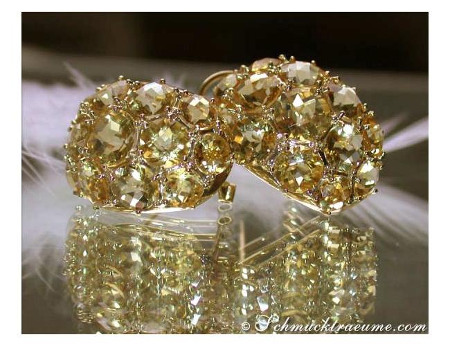 Handsome Citrine Earrings
