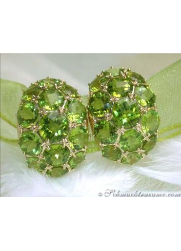 Attractive Peridot Earrings
