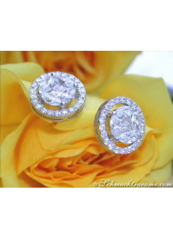 Exclusive Diamond Stud Earrings