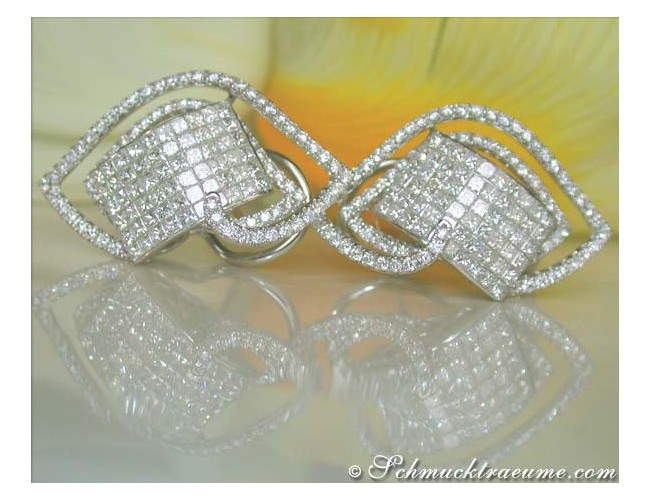 Exclusive Princess Diamond Earrings