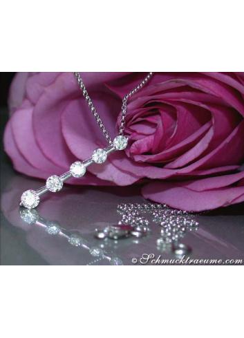 Precious Diamond Solitaire Necklace