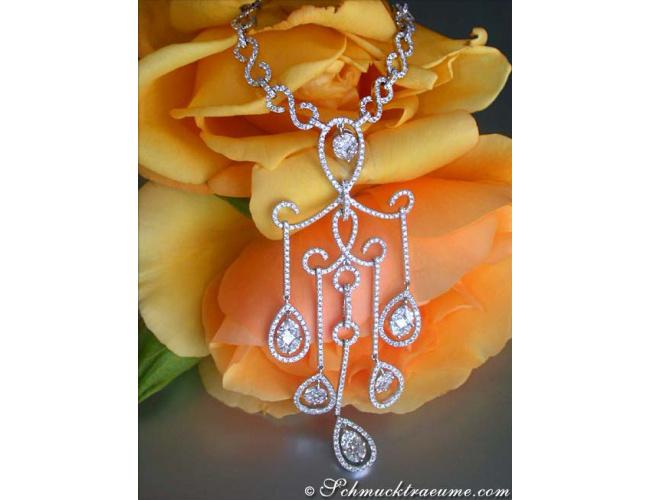 Luxus Diamanten Collier