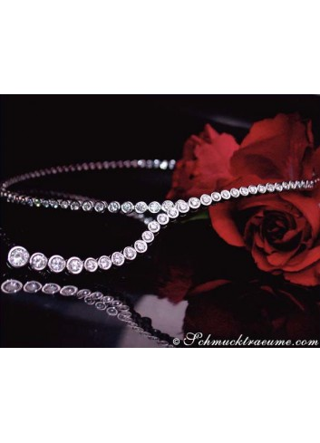 Exquisite Diamond Y-Necklace