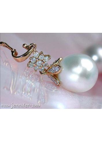 Timeless Southsea Pearl Diamond Pendant