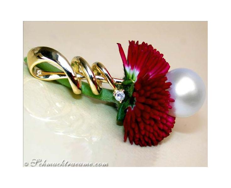 Interesting Southsea Pearl Pendant