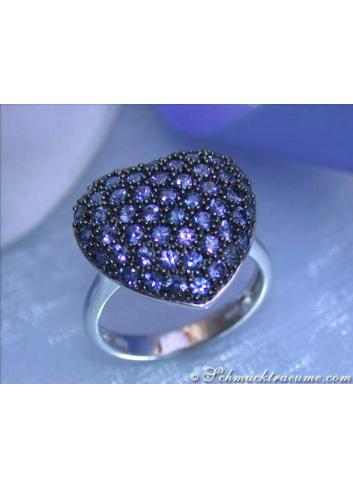 Herz Saphir Ring